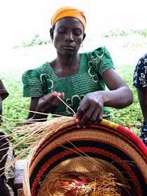 """I remember watching these ladies make baskets when I was a kid. I can still smell the """"basket"""" smells! : )"""