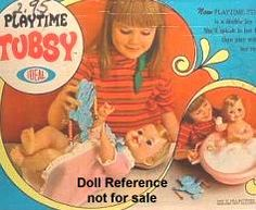 1967-1968 Ideal Playtime Tubsy doll - Google Search