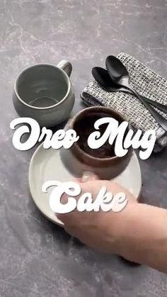 Looking for a quick and easy satisfying dessert? Look no further than this chocolatey Oreo Mug Cake for one. It takes a little over 3 minutes from start to finish!    #oreomugcake #mugcake #mugcakerecipes #chocolate #dessertsforone #chocolaterecipes #oreorecipes #quickrecipes #easyrecipes #dessertforoone #individualdesserts Mug Recipes, Cake Mix Recipes, Cupcake Recipes, Sweet Recipes, Cupcake Cakes, Kitchen Recipes, Vegan Recipes, Dessert Recipes, Cupcakes