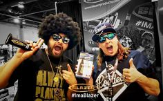 Master Bong and CustomGrow420 at the Blazer products Champs Trade Show Booth  #Butane #Torch #MasterBong #BlazerProducts #Customgrow420 #ChampsTradeShow #LasVegas
