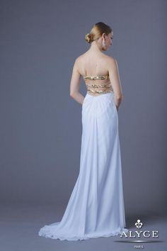 Alyce Prom Dress Style #6207 Back View