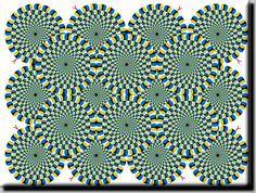 Optische Täuschung - Bewegung