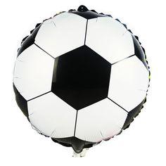 Barato Nova chegada 18 polegada balões folha de impressão de futebol    decoração infantil balões bola df72578439224
