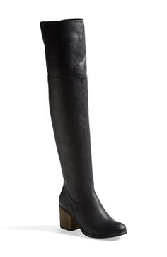 35 Over the Knee Boots and Ways To Wear Them - This black pair is $150