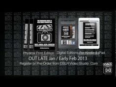 DSLR Studio Handbook Print, Kindle and iPad editions