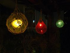 Lamps & Assorted Mysteries of the South Seas From Bongofury (Mugs Added Pg. Tikki Bar, Tiki Bar Decor, Tiki Lounge, Tiki Tiki, Lamp Ideas, South Seas, Christmas Bulbs, Lamps, Mystery