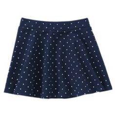 NWT Gymboree PREP PERFECT Polka dot Skirt
