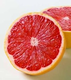 1/2 of a grapefruit is 1 serving of fruit while on the HCG diet. Grapefruit can help curb your hunger