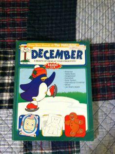 Mailbox December Monthly Idea Book GR1 3 Teachers Homeschoolers Daycares   eBay