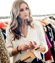 Olivia Palermo beauty secret: drink tons of water & get your beauty rest!