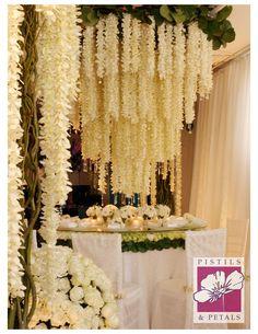 Wedding Centerpiece Flower Arrangement by Pistils & Petals  https://www.facebook.com/PistilsAndPetals  https://www.PistilsAndPetals.com