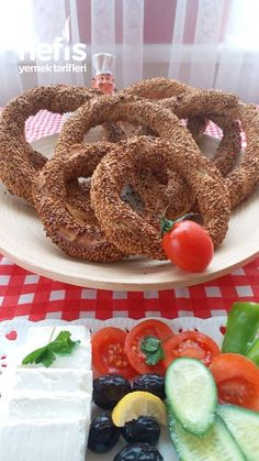 Ankara, Homemade Beauty Products, Bagel, My Recipes, Doughnut, Cereal, Food And Drink, Breakfast, Desserts