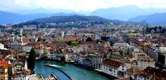 Travel to the Happiest Places in the World ~ Lucerne, Switzerland