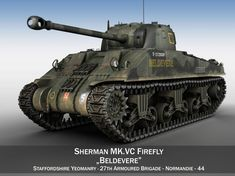 3D M4 Sherman MK VC Firefly - Beldevere , available in OBJ, 3DS, FBX, C4D, LWO, LW, LWS, ready for 3D animation and other 3D projects Army Tank Cake, Sherman Firefly, Military Drawings, Tank Armor, Sherman Tank, Tiger Tank, Model Tanks, Ww2 Tanks, Tank Design
