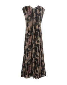 Damir Doma Women Long Dress on YOOX. The best online selection of Long Dresses Damir Doma. YOOX exclusive items of Italian and international designers - Secure payments Damir Doma, Summer Dresses, Formal Dresses, Round Collar, Wool, Clothes, Collection, Shopping, Black