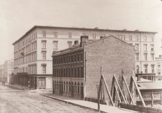 Rossin House Hotel, southeast corner of King and York St.  1856