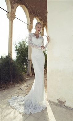 lace wedding dress. I would love this in a short style