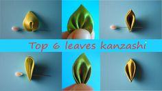 Лучшие Листочки к Канзаши / Top 6 leaves Kanzashi