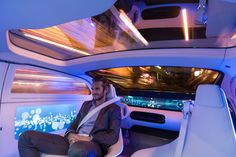 mercedes-benz F 015 self-driving, luxury sedan concept debuts at CES