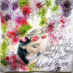 Little moments in my life - mini album fleurs
