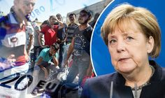Migrants in Germany. Syrian refugee with FOUR WIVES and 23 CHILDREN 'claims £320,000 a year in benefits'.