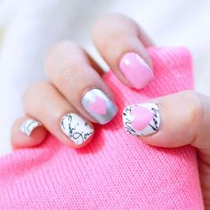 Lovely Nails! // I love this type of nails..