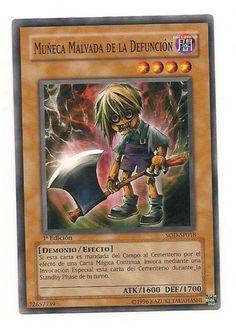 Muneca Malvada De La Defuncion SOD-SP018 Konami Yu Gi Oh 1st Edition Card Free U S Shipping SJG