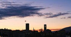 Sunset in Bassano