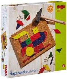 Amazon.com: Haba Geo Shape Tack Zap: Toys & Games