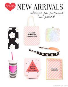 shop bando, ban.do, fun prints and patterns, fun accessories, think elysian