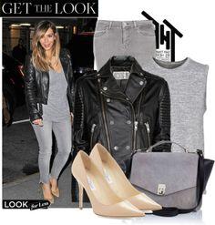 """Looks For Less: Kim Kardashian's Street Style"" by katherine-christina on Polyvore"