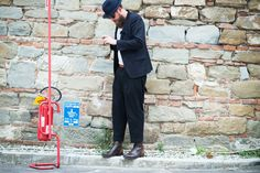 Pitti Immagine Uomo Street Style: See the Best Looks Here Photos | W Magazine