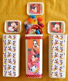 DIY Disneyland Treat Containers**