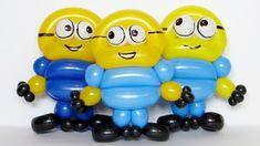 Миньон из шаров / Minion of balloons (Subtitles)
