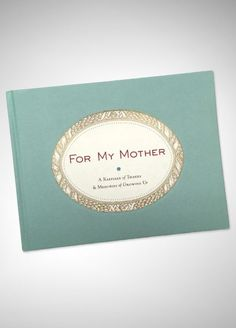 For My Mother Book 9781584794097V2