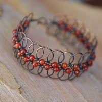 loopy bead bracelet