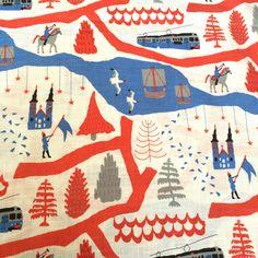 Kokka Torten North Trip by Natsuki Camino Lightweight Canvas