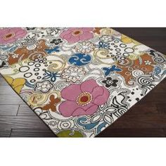 Goa floral area rug by Surya at Key Home Furnishings in Portland, OR.  This rug is available in multiple sizes, visit our website for more information!