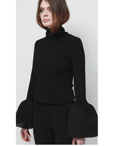 824f353d I love this Loeil turtle neck! Full Sleeves Design, Outfits Spring 2017,  Bell