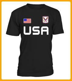 USA Tshirt American Flag Tee Usa Soccer Style Us - Hockey shirts (*Partner-Link)