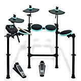 Buy Alesis Drums DM Lite Kit - Complete Electric Drum Set with Sounds, LED Illuminated Drum / Cymbal Pads, Drum Sticks and Pre-Assembled Rack. Usb, E Drum Set, Drum Sticks, Electric Drum Set, Digital Drums, Drum Pad, Drum Kits, Good And Cheap, Running The Gauntlet
