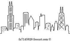 See Chicago Art Prints at FreeArt. Get Up to 10 Free Chicago Art Prints! Gallery-Quality Chicago Art Prints Ship Same Day. Chicago Skyline Tattoo, Chicago Skyline Drawing, Chicago Tattoo, Skyline Painting, Skyline Art, Free Art Prints, Canvas Art Prints, Do It Yourself Quotes, Skyline Silhouette