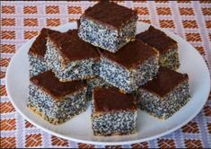Simple poppy seed cake This is traditional slovak cake. It is easy for preparation and very good. I love it, because this cake preparing my grandma when I was a little girl. Easy Cake Recipes, Sweet Recipes, Dessert Recipes, Desserts, Poppy Seed Cake, Kolaci I Torte, Ukrainian Recipes, Czech Recipes, Food Cakes
