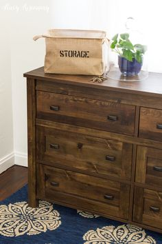 storage tote with handles