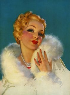 """gmgallery: """" Gorgeous by Jules Erbit (TDM, 1930s) www.stores.eBay.com/GrapefruitMoonGallery """""""