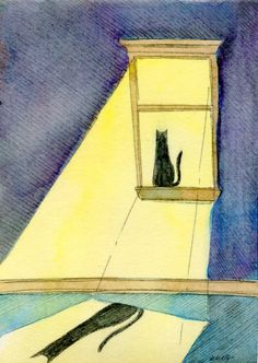 Sunbeam, painting by artist Nicole Wong