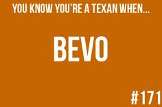 "Hook em' horns!  I might not know a lot about Texas/Football.. But apparently I've been ""converted"" so i KNOW Bevo! haha"
