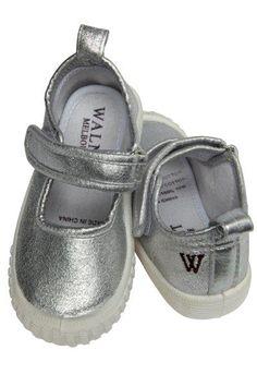 Silver Walnut Mary Janes