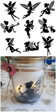 Diy Crafts - These Gorgeous Fairy Jar Lanterns Are Magical Mason Jar Crafts, Mason Jar Diy, Bottle Crafts, Crafts In A Jar, Diy Jars, Mason Jar Projects, July Crafts, Diy Projects, Fairy Lanterns