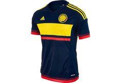 25271d17286 adidas Colombia Away Jersey 2015 Adidas Soccer Jerseys